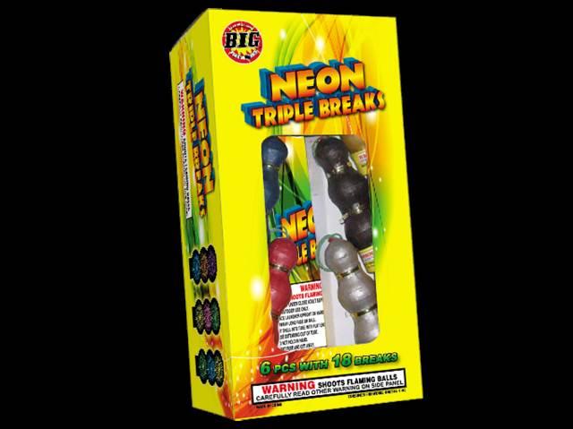 Neon Colors in Triple break shells.